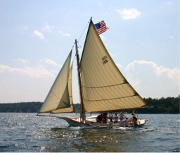 "Friendship sloop ""Lady"""